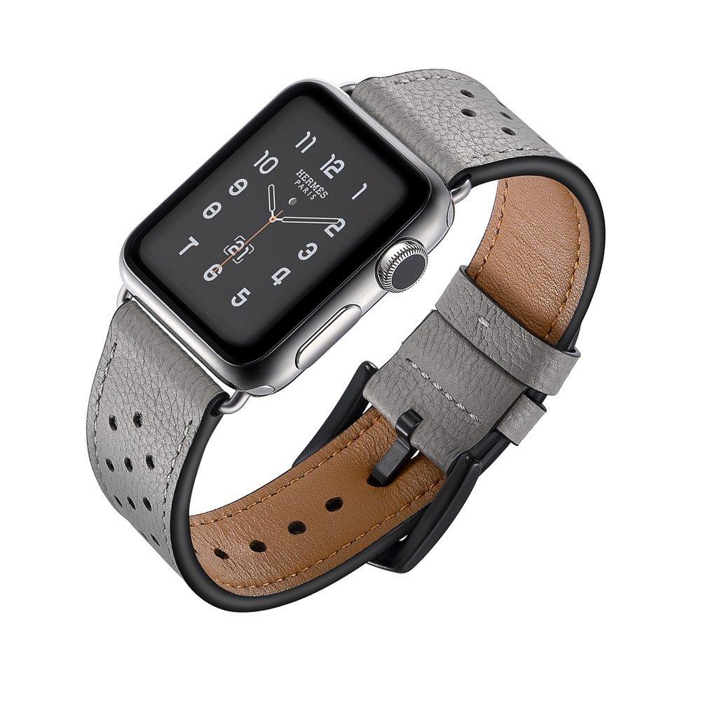 ビジネスシーンに最適『SUNKONG Apple Watch 革バンド』