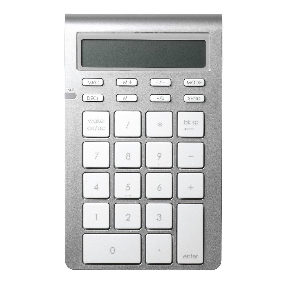 電卓としても使える「Satechi ワイヤレス Bluetooth テンキー」
