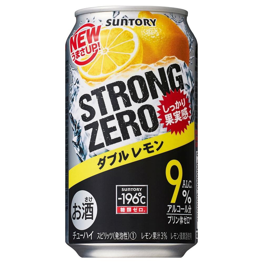 一番人気『サントリー ストロングゼロ ダブルレモン』