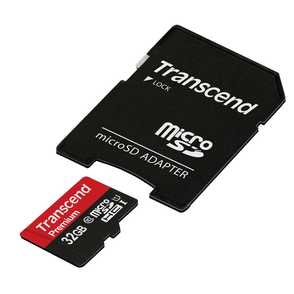 ゲームでも使える「Transcend microSDHCカード 32GB TS32GUSDU1PE」