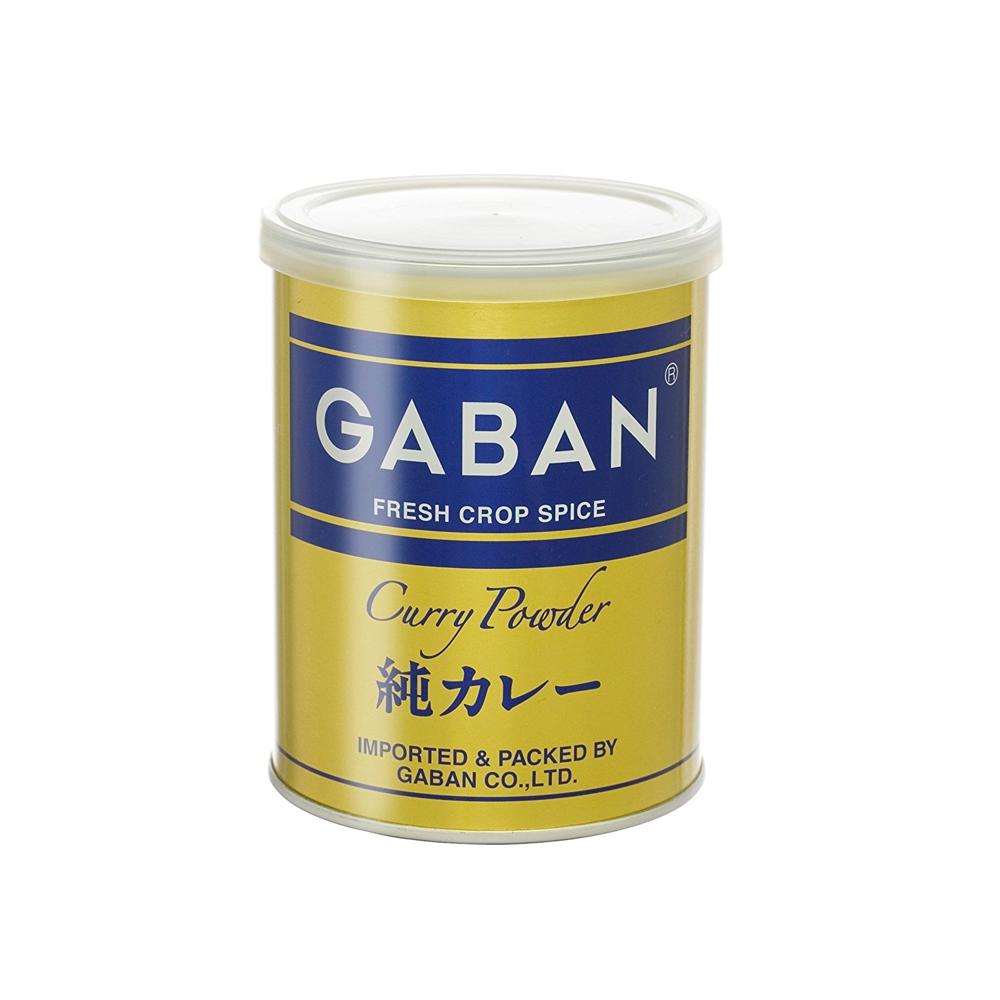 スパイス100%ギャバン・純カレーパウダー丸缶 220g