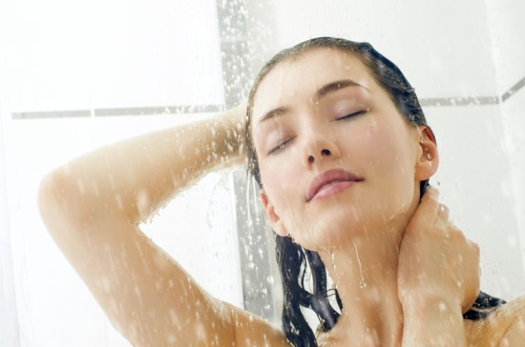 泡立ちをよくするために湯洗い